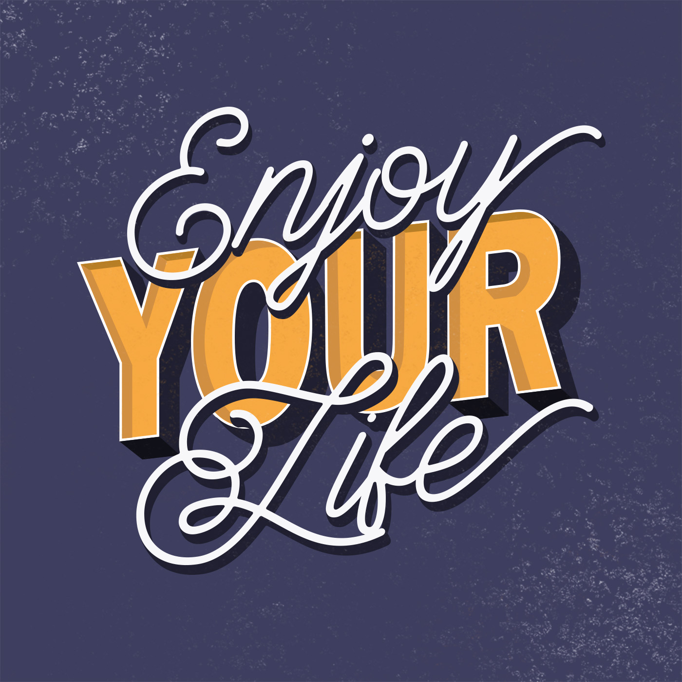 enjoy your life SOSTITUIRE